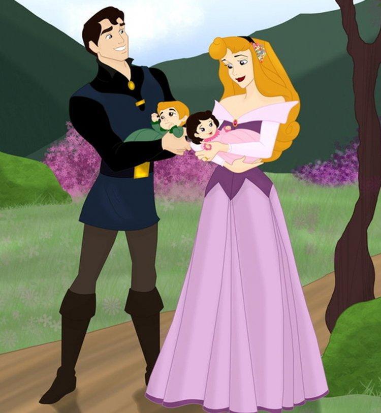 Les princesses disney sont mamans d couvrez leurs - Princesse qui danse ...